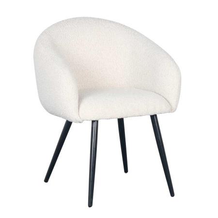 Stuhl Esszimmer Bou Buklee Pearl White