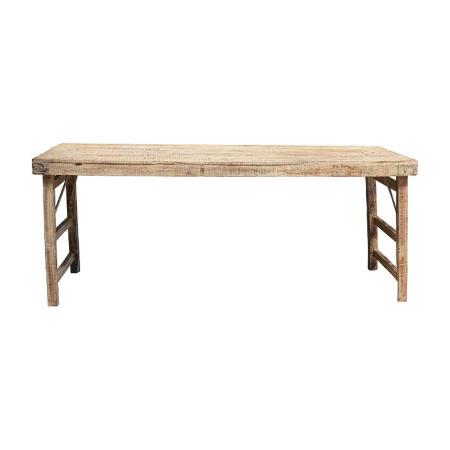 Altholz Markt Tisch Landhaus White Wash 175 cm