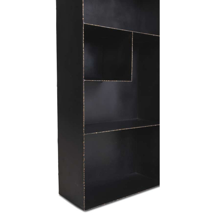 Industrial Bücherschrank Metall versetzte Regale 180 cm