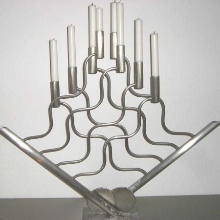Kerzenständer 8er