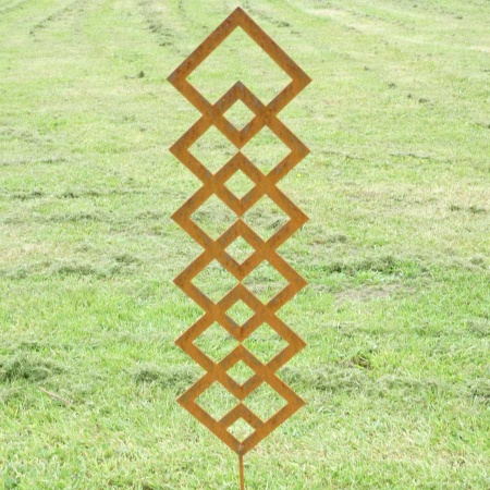 Kletterquadrat Gartenobjekt Metall