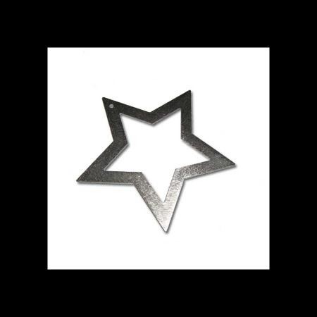 Stern aus Edelstahl