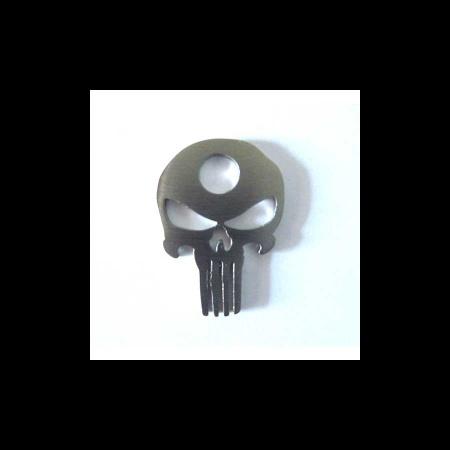 Totenkopf als Ringaufsatz
