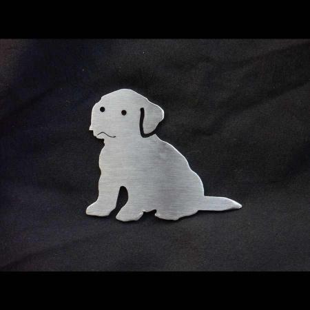 Edelstahl Nussknacker Hund