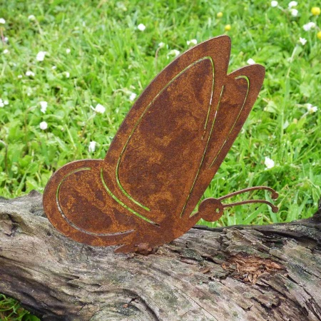Schmetterling Metall
