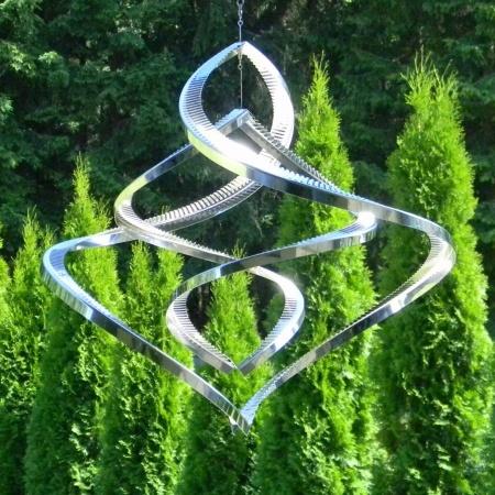 Windspiel 3D Twister Elemente