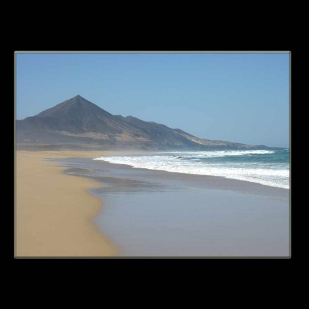 Cofete Strandparadies auf Fuerte Ventura