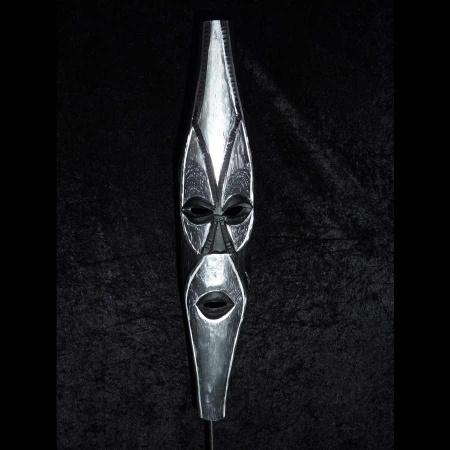 Maske Holz Stahl Stein Afrika