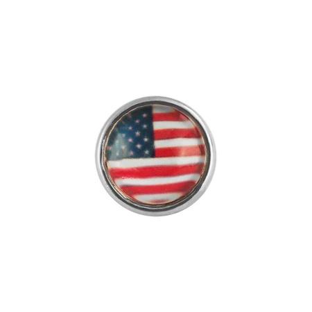 Druckknopf Small Size Flagge Amerika