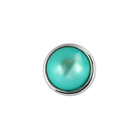 Druckknopf Small Size blau grün - türkis