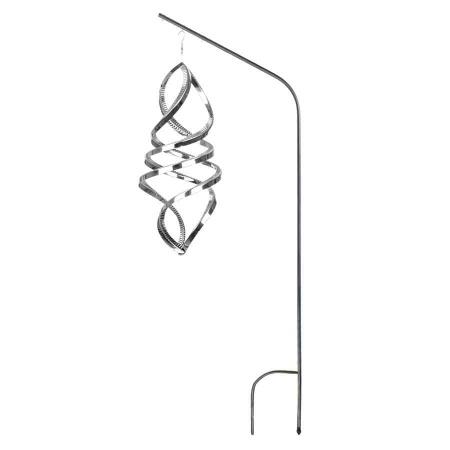 Windspiel Ovalus 3D Hochglanz poliert