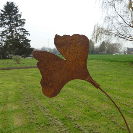 Ginkgoblatt Lebensbaum Garten Bodenstecker 167 cm