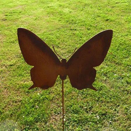 Metall Schmetterling Gartendeko Rost