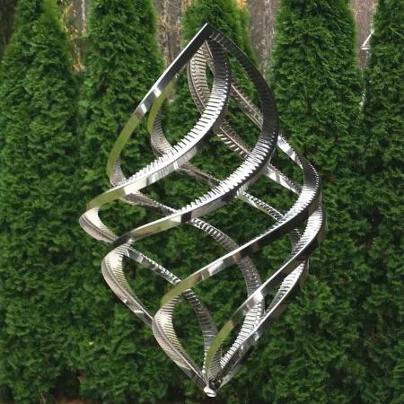 Windspiel Elegance Edelstahl 42 cm