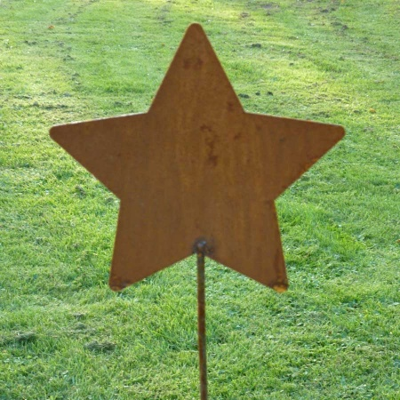 Metall Stern 100 cm Bodenstecker