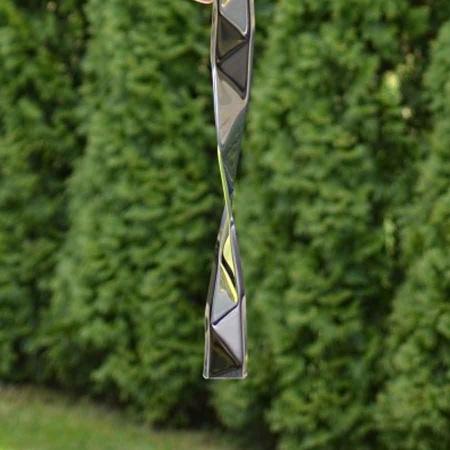Deko Windspiel Rumble Edelstahl gross 97 cm