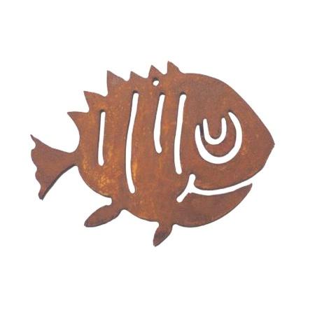 Clownfisch Metall Deko Fisch Anemone