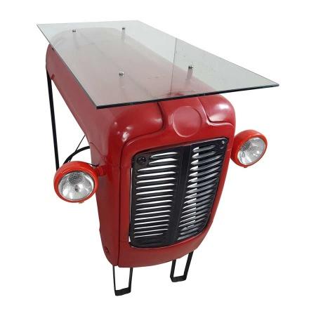 Tresentisch Traktor Design Bartisch Theke 120 cm