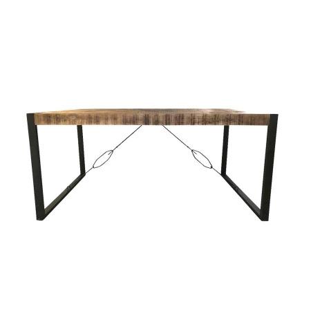 Esstisch Maya Industrie Design Massivholz 160 cm