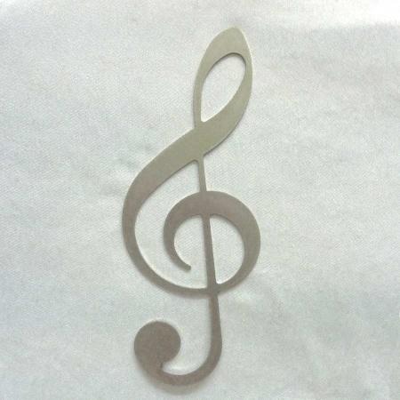 Notenschlüssel Musik als Geschenkidee