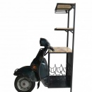Scooter Weinregal Roller Flaschenregal Weintisch
