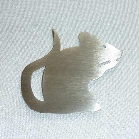 Mäusekönig Nussknacker aus Edelstahl hergestellt