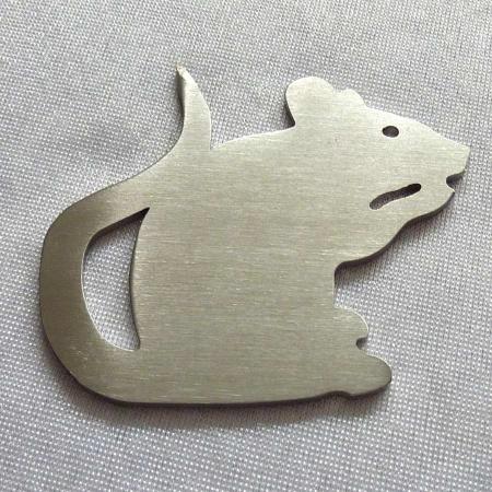 Weihnachtsmärchen Nussknacker aus Metall gefertigt
