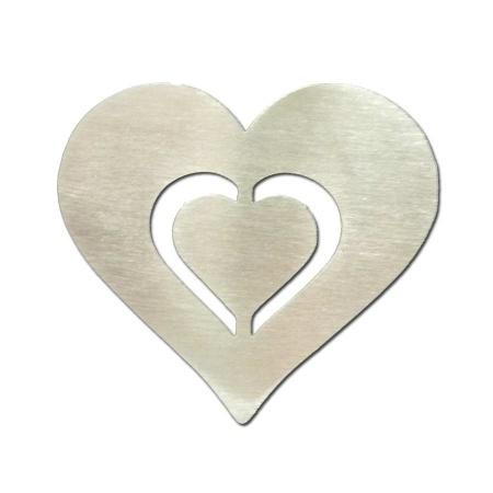 Nussknacker Herz aus Edelstahl gefertigt