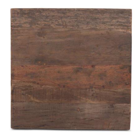 Altholz Tischplatte quadratisch in 70 cm