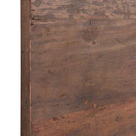 Holz Tischplatte Vintage 70 cm