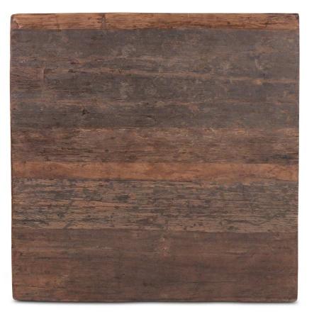 Massivholz Tischplatte quadratisch 80 cm