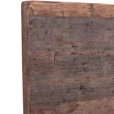 Holz Tischplatte quadratisch in 80 cm guenstig