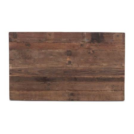 Tischplatte Holz rechteckig in 120 x 70 cm