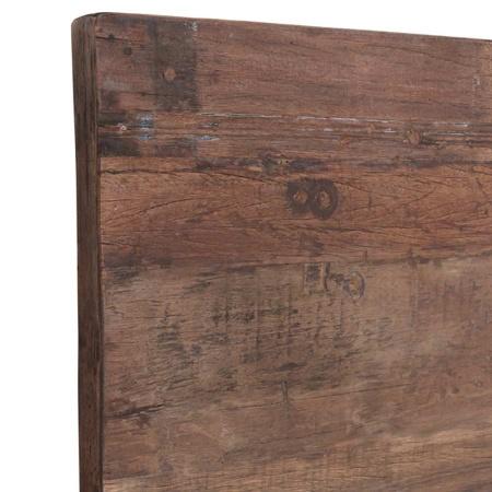Tischplatte Vintage Holz 120 x 70 cm
