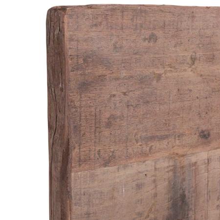 Altholz Tischplatte MassivO rustikal rechteckig 120 x80 cm