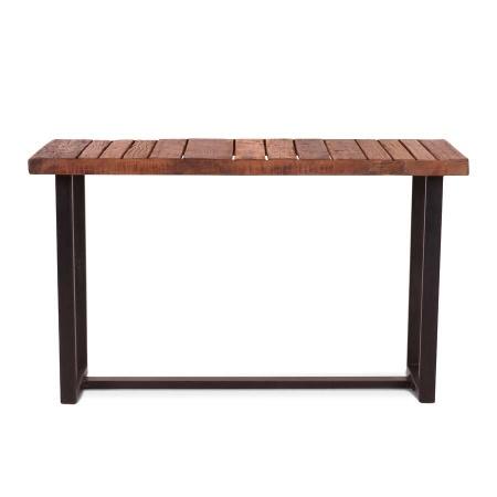 Konsolentisch industrial Holz in 130 cm Breite