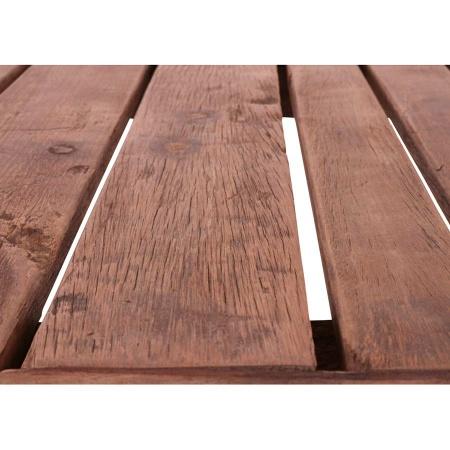 Wandtisch Metallgestell mit Holzplatte