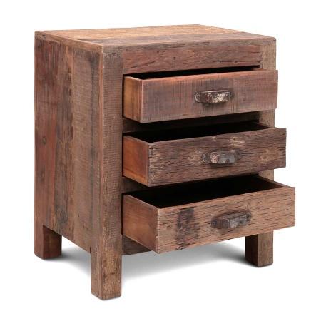 Nachttisch Holz Landhausstil und Vintage zugleich