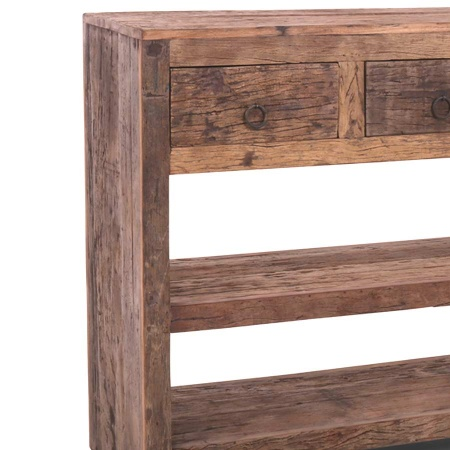 Sideboard Anrichte Altholz MassivO 3 Schubladen 120 cm