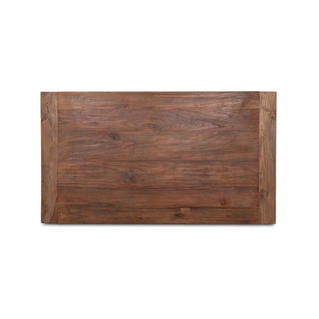 Teakholz Tischplatte aus der Serie Lea in 140 x 90 cm Dingklik Dijon