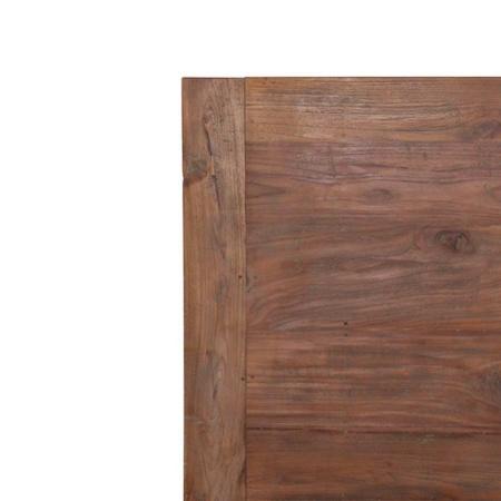 Teakholz Platte Tisch in circa 140x90 cm massiv Dengkleh Dijon