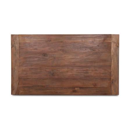 Teak Holz Tischplatte aus der Serie Lea in 180 x 90 cm Dingklik