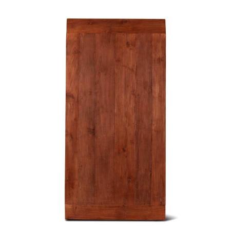 Tisch Teakholz Platte Lea natural Massivholz 180x90 cm