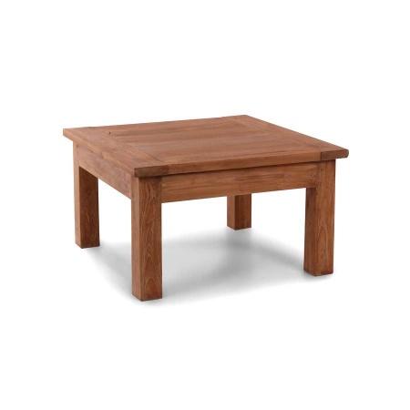 Holz Couchtisch Teak Lea natural quadratisch 80 cm