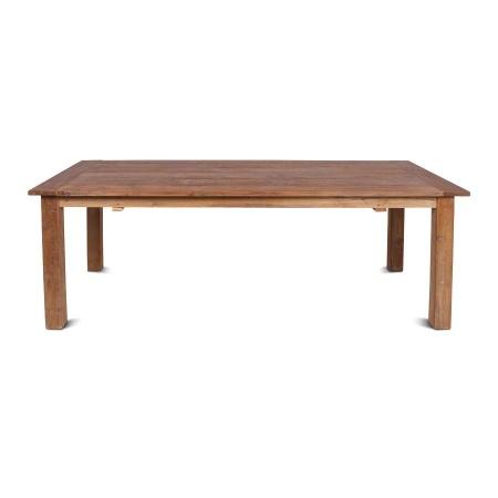 Teak Esszimmer Tisch Massivholz Lea natural 220 cm