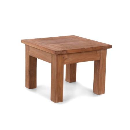 Holz Beistelltisch Teak Lea natural quadratisch 60 cm