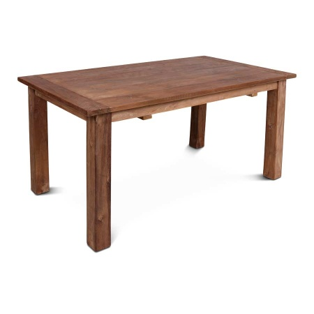 Esstisch Teak Holz Lea natural massiv 160x90 cm