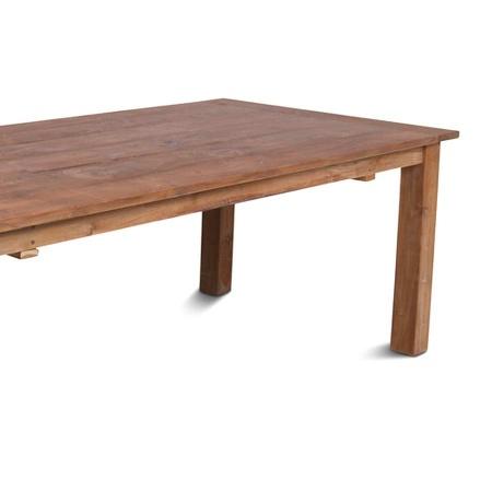 Holztisch Teak Esszimmer Lea natural 200 cm