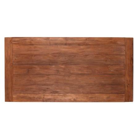 Holz Tischplatte Teak Lea natural massiv 240 cm