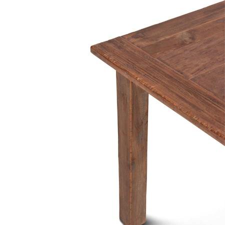 Holz Tisch Teak Lea natural quadratisch 80 cm